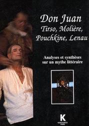 Don Juan, Tirso, Molière, Puchkine, Lenan