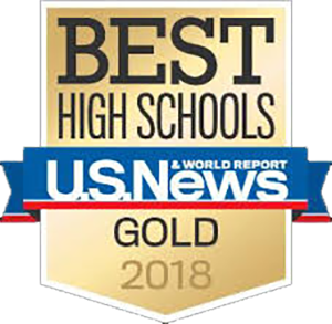 US News and World Report 2018 GOLD Best High Schools