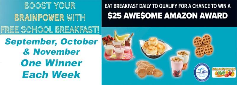 Amazon Breakfast Flyer