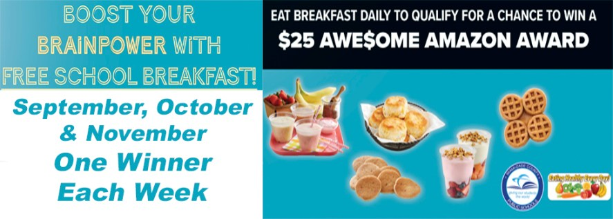 Amazon Breakfast Flyer