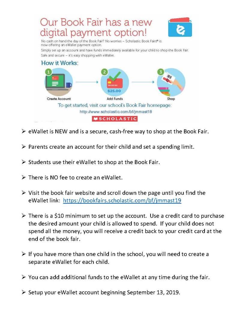 Book Fair has a new digital payment option