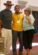 In Mexico with Ricardo Gallardo and Robyn Schulkowsky, 2008