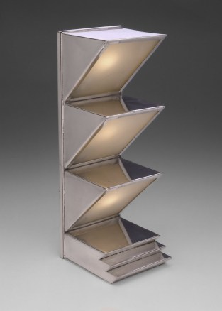 Art Déco, 2º fase, lámpara de mesa de Donald Deskey