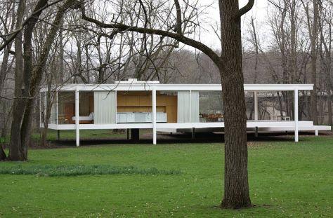 Casa Farnsworth por Mies Van der Roeh