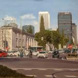 Paseo de la Castellana desde Nuevos Ministerios