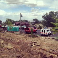 The Hot-Shots Take Over the Park. We are the Incident Command Post for the Hunter Creek Fire, 2014.