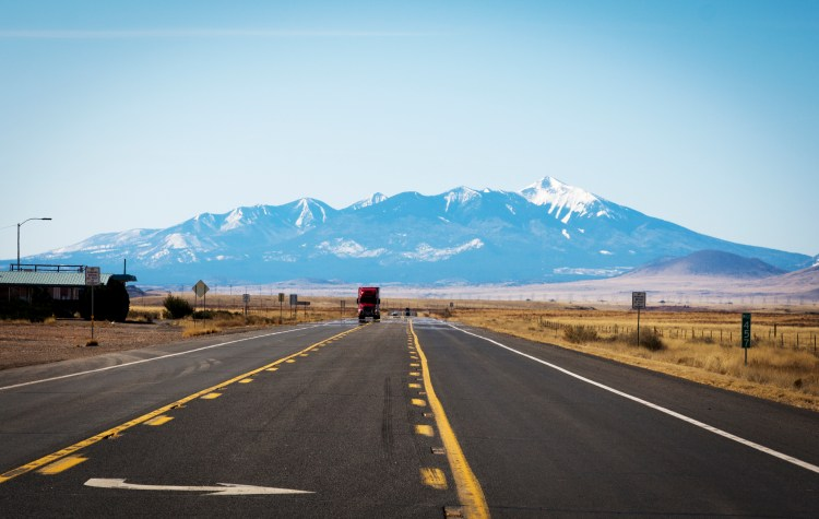The Open Road in the Western United States