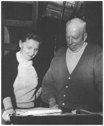 Leigh Brackett with Howard Hawks