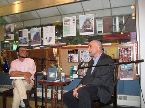 Eric Banks at McNally Jackson