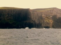 The Cliffs taken from a fisherman's vantage.