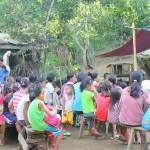 Feeding: Brgy. Kangao Quitago, Guinobatan, Albay