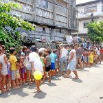 Feeding Outreach – San Nicolas, Delpan