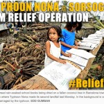 Disaster Relief: Typhoon Nona Survivors @ Sorsogon
