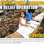 Disaster Relief: Typhoon Nona Survivors @ Sorsogon