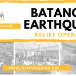 Relief Operation: Batangas Earthquake