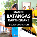 Video: Batangas Earthquake Relief Operation