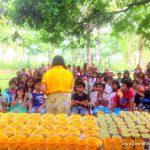JFM MINDANAO: Feeding Outreach @ Gango, Libona Bukidnon