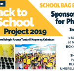 Back To School Project 2019