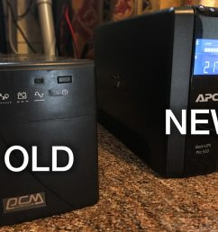 i did a bit of shopping around and i settled on the apc backups rs 550 from amazon warehouse deals where i got it for 102 45 a risk you take with buying  [ 1024 x 768 Pixel ]