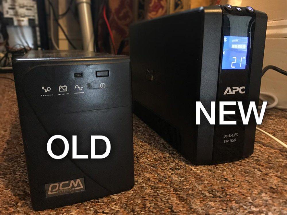 medium resolution of i did a bit of shopping around and i settled on the apc backups rs 550 from amazon warehouse deals where i got it for 102 45 a risk you take with buying