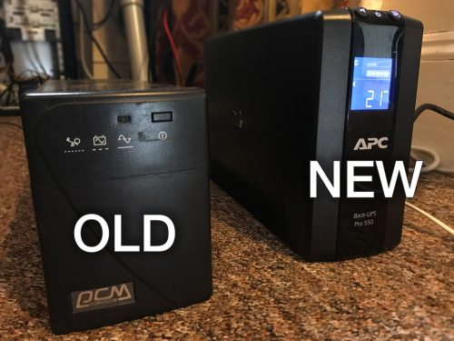 small resolution of i did a bit of shopping around and i settled on the apc backups rs 550 from amazon warehouse deals where i got it for 102 45 a risk you take with buying