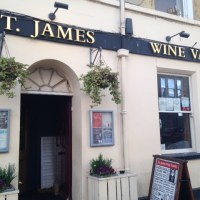 Poetry and a Pint at St James Wine Vaults