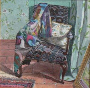 """Mexican Silk  watercolour  10"""" x 10"""""""
