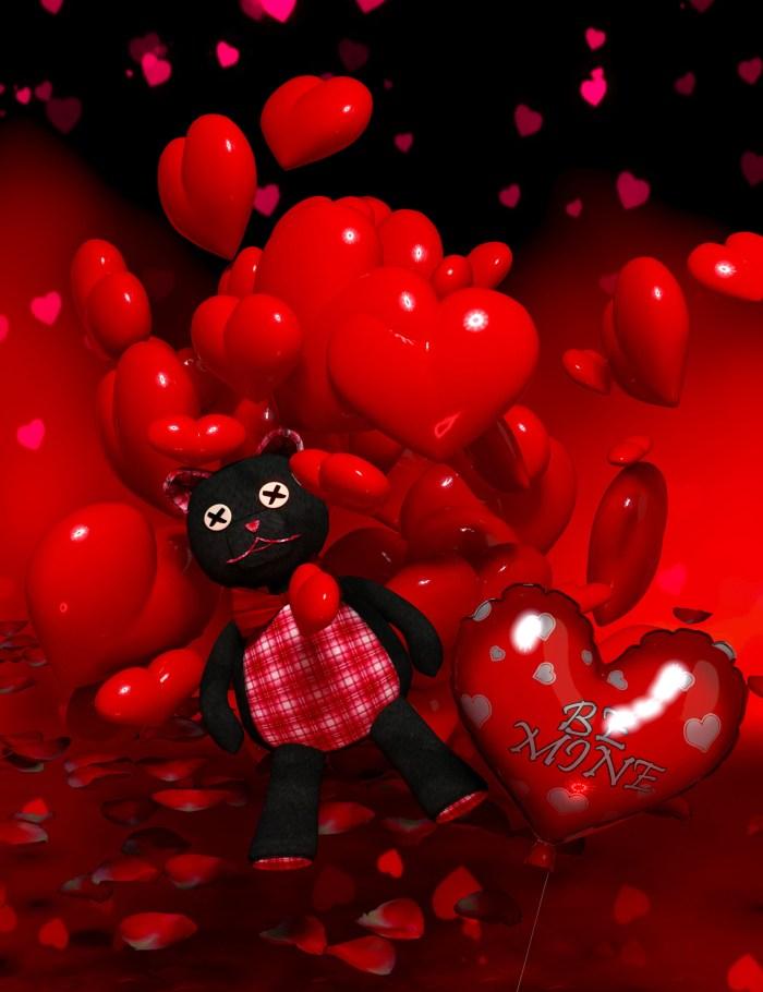 Valentine Bear Be Mine