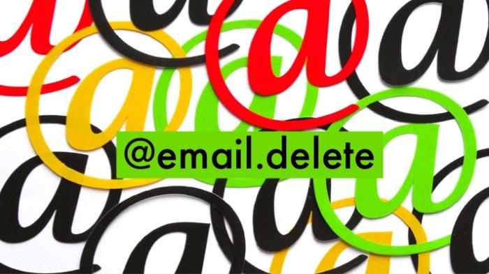 Email Delete