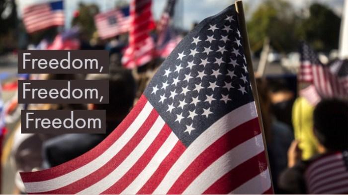 Freedom FreedomF reedom