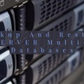 Backup And Restore Multi-Part Databases
