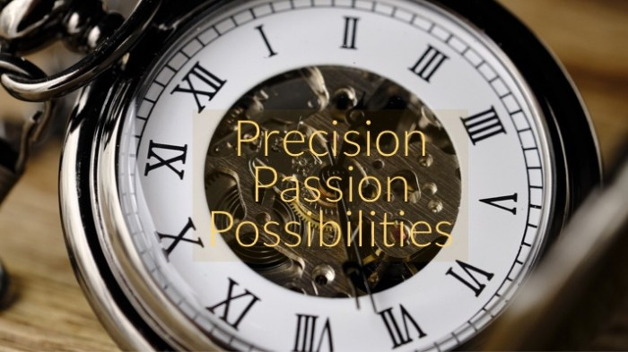 Gears Of Time Precision Passion Possibilities