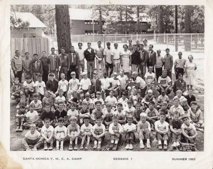 YMCA Summer Camp 1965