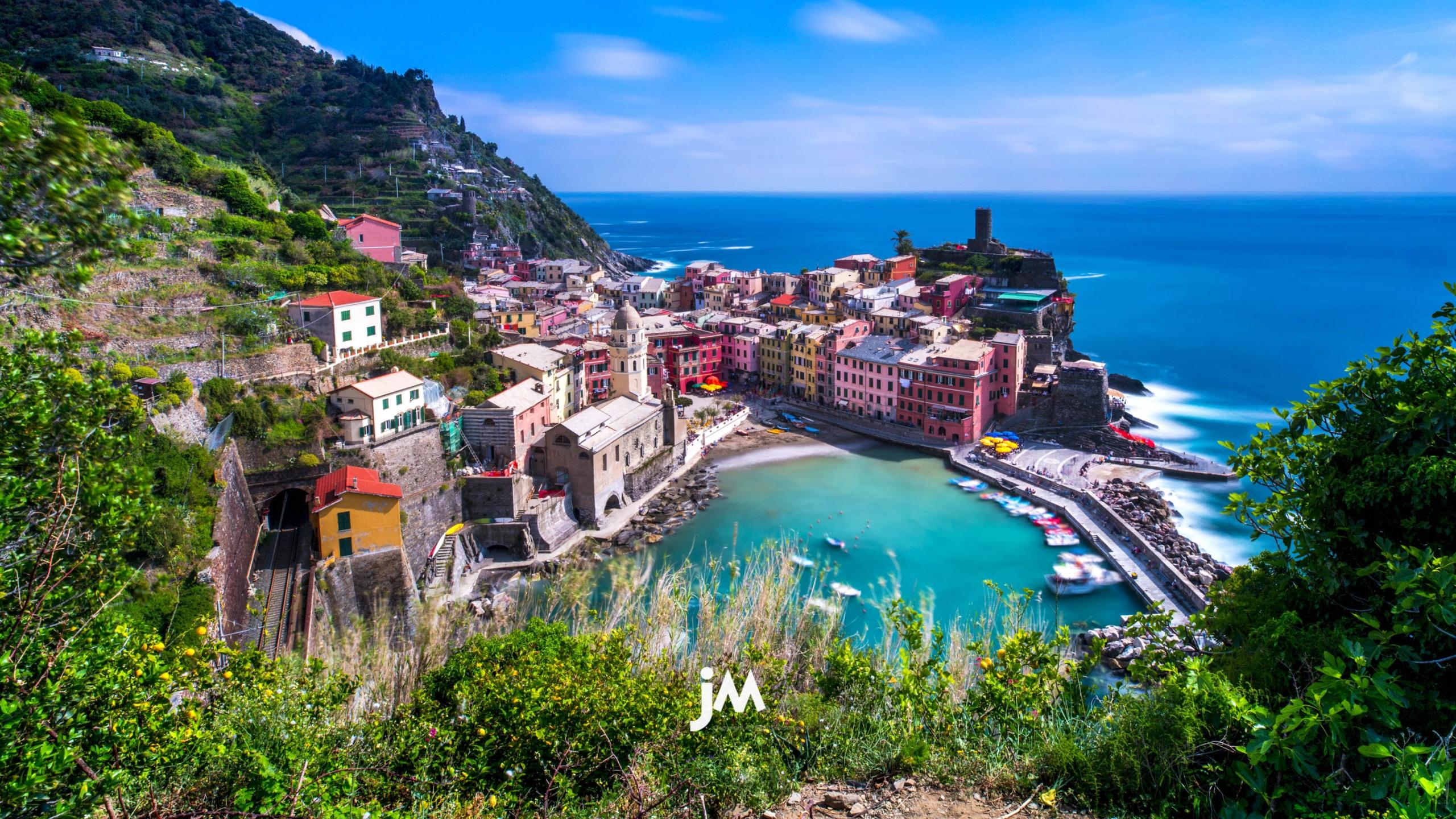 Italy, Cinque Terre Fishing Village