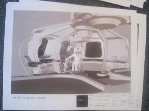 Int. Shuttle Cockpit render - Stargate: Universe, Season One, Air.