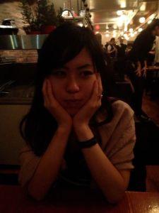 Akemi - not the biggest fan of foie gras.