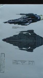 Alien fighter design.