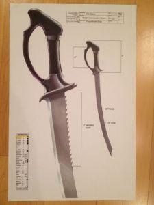 Wraith Commander's sword