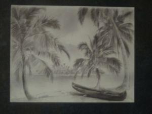 Wray's artwork