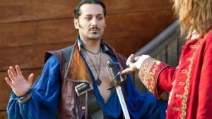 As Gentleman Starkey in the Neverland miniseries.