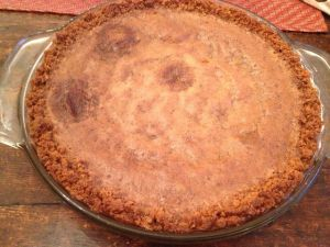 The Crack Pie.  Presumably, no actual crack was used in the making of this pie.  That said, I'm experiencing withdrawal pangs just looking at it.