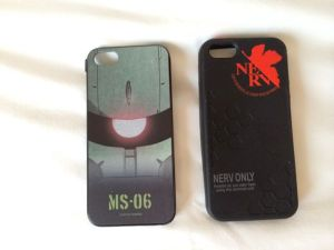 New cell phone covers.