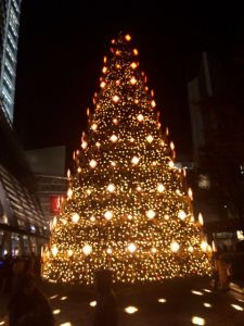 It's already Christmas in Roppongi.