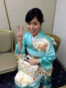 Akemi all dressed up