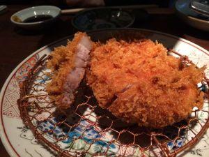 Crispy pork tonkatsu