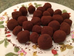 Tennessee Honey Whisky truffles