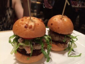 Iberico pork sliders at Julian Serrano.