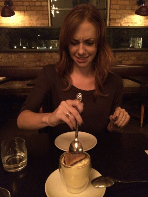November 5, 2014: Dinner With My Toronto Arch-nemesis, Tara Yelland!