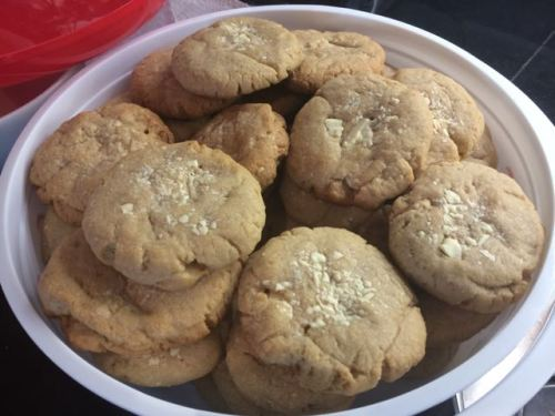 December 21, 2014: Drunken (southern) Uncles!  That Bourbon And Brown Butter Cookie – With White Chocolate Chunks – Recipe!