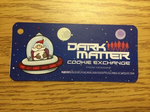 December 15, 2014: The Dark Matter Cookie Exchange!